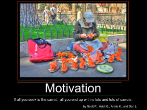Motivational Demotivation Poster