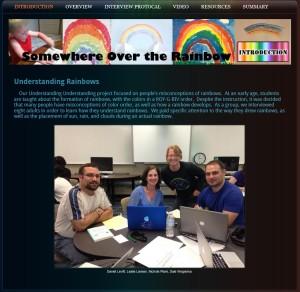Understanding Understanding Rainbows